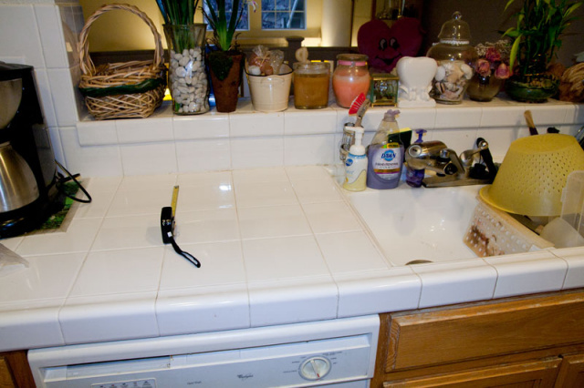 Granite Shield Kitchen Countertop Tile Amp Grout Sealer