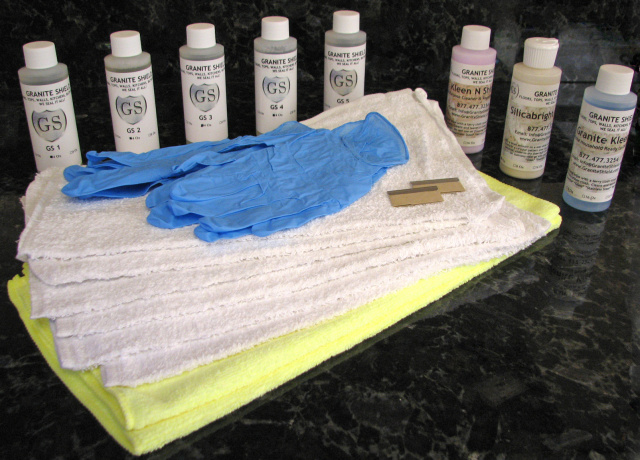 Granite Shield Do It Yourself Kit For Permanently Sealing