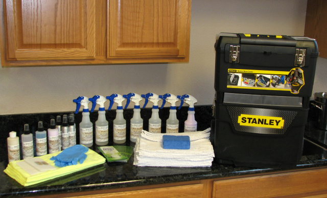 Granite Shield's Contractor Refill Kit - Seals Approximately 600 Sq. Ft. of Granite